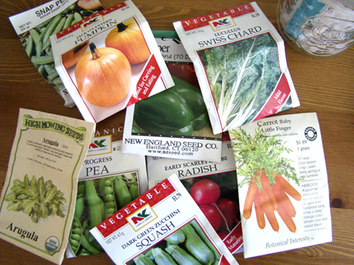 2008 Seed Packets